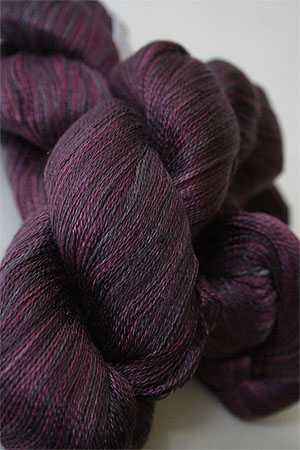Tosh silk lace yarn by MadelineTosh in Oxblood