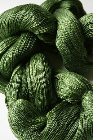 Tosh silk lace yarn by MadelineTosh in Jade