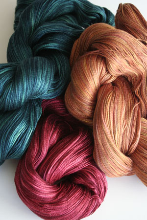 Tosh silk lace yarn by MadelineTosh