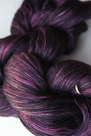 Tosh silk lace yarn by MadelineTosh in Duchess