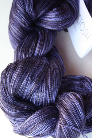 Tosh silk lace yarn by MadelineTosh in Clematis