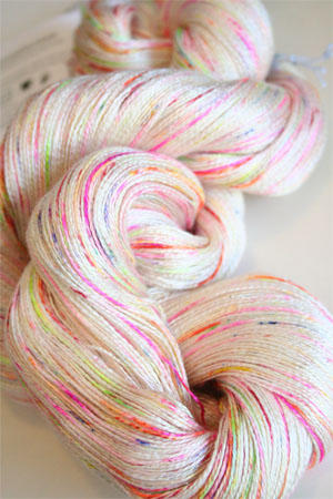 Tosh silk lace yarn by MadelineTosh in Holi Festival
