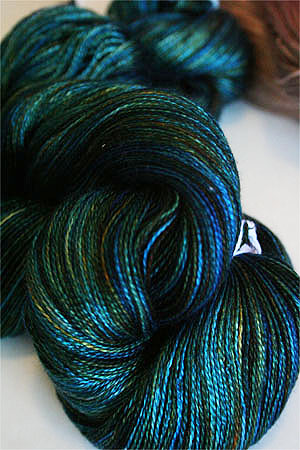 Tosh silk lace yarn by MadelineTosh in Shire