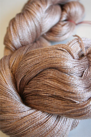 Tosh silk lace yarn by MadelineTosh in Reindeer