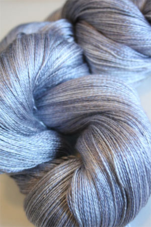 Tosh silk lace yarn by MadelineTosh in Moonstone