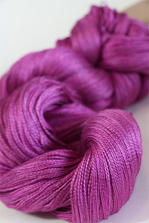 Tosh silk lace yarn by MadelineTosh in Prairie Fire
