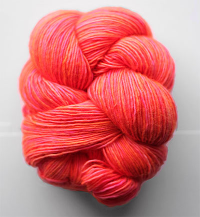 Tosh Merino Light Neon Peach