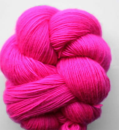 Tosh Merino Light Flouro Rose