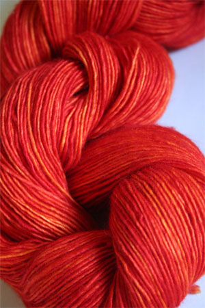Madelinetosh Light in 54 Tomato