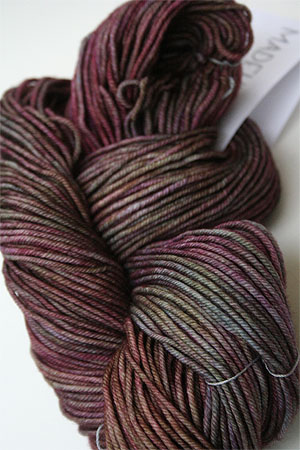 madelinetosh vintage yarn in Grenadine