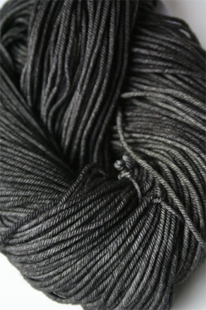 madelintosh vintage yarn in 005 Graphite