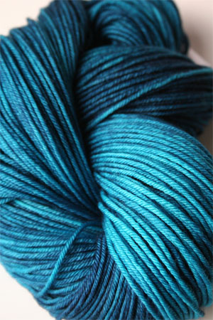 madelintosh vintage yarn in baltic