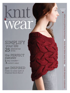 knit.wear magazine for knitters