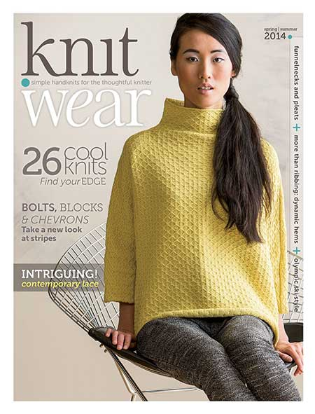 Knitting Magazine : Knit.wear Magazine from Interweave Knits