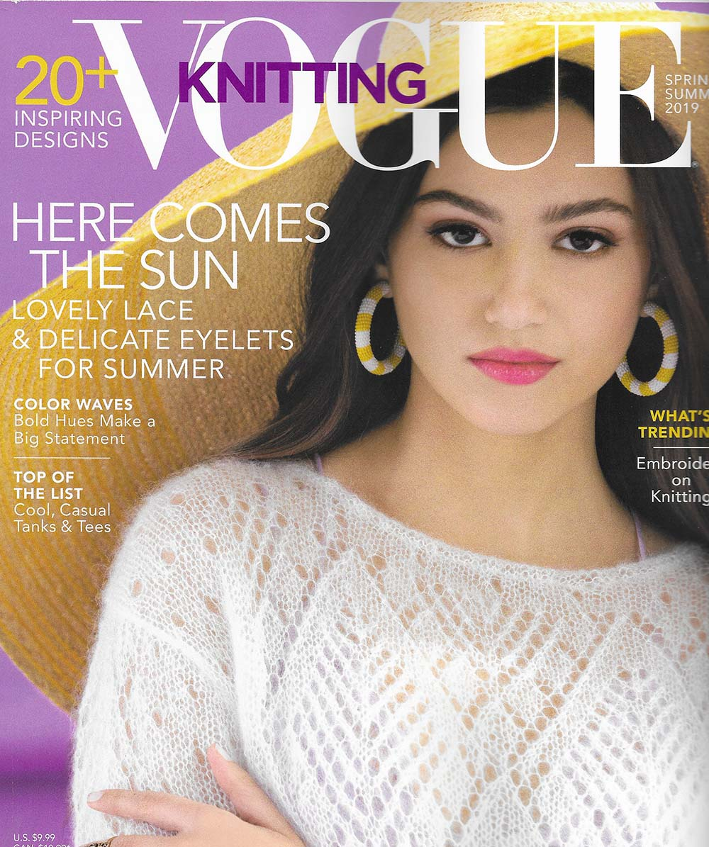 Vogue Knitting Magazine Current And Back Issues Online