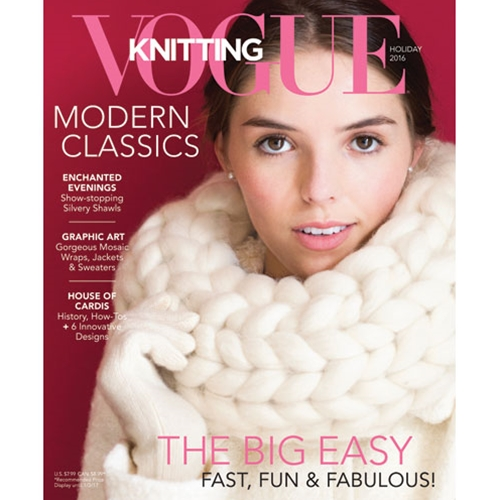 VOGUE KNITTING MAGAZINES