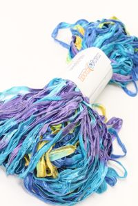 Mango Moon Silk Ribbon