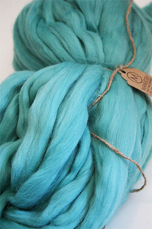 Pudgy Big Wool in Azure