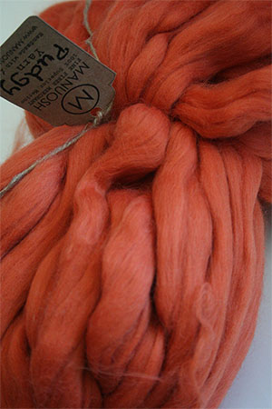 Pudgy Big Wool in Tangerine