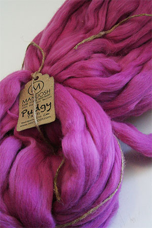 Pudgy Big Wool in Think Pink