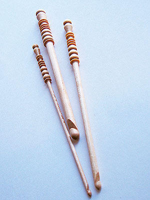 Brittany Crochet Needles - Birch Crochet Hooks