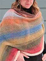 Mohair Shawl Knitting Kit