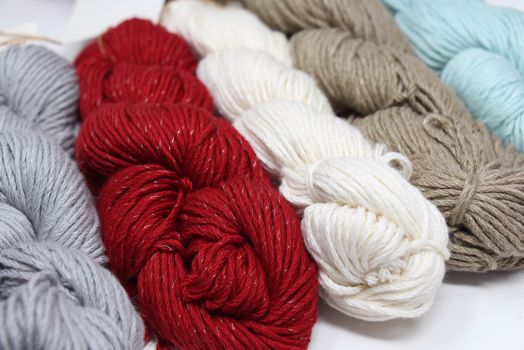 Pakucho Organic Cotton Yarn with Elements Silver