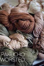 pakucho organic cotton worsted