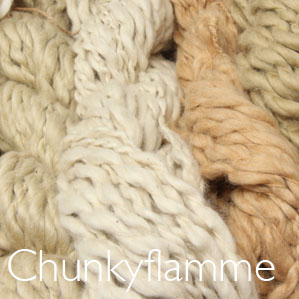 pakucho chunky cotton flamme