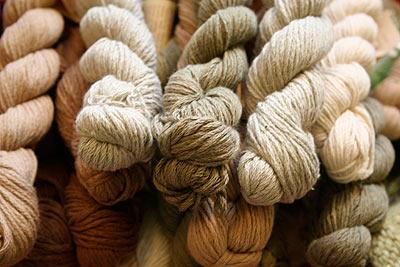 Organic Cotton Yarn From Pakucho Blue Sky Alpacas