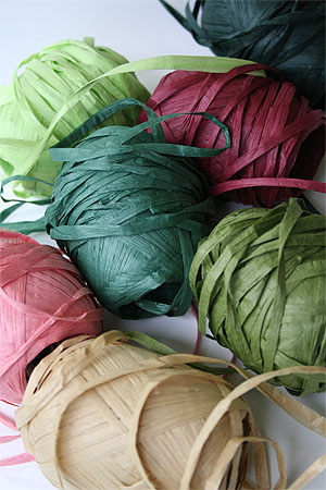 Natural Club Paper Ribbon Yarn