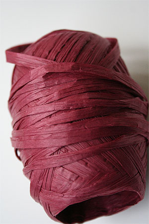 Paper Yarn from Natural Club in 19 Rose