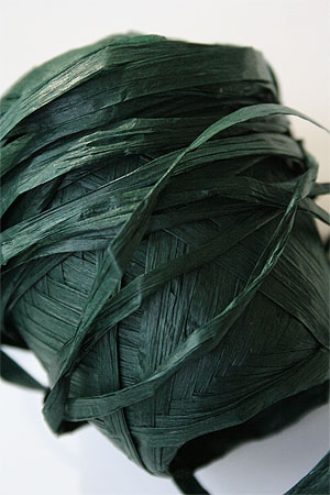 Paper Yarn from Natural Club in 25 Dark Green