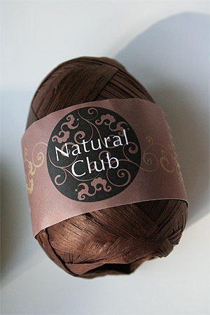 Paper Yarn from Natural Club in 26 Chocolate
