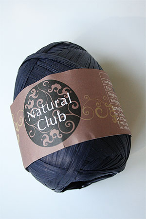 Paper Yarn from Natural Club in 99 Indigo