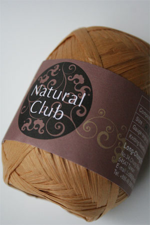 Paper Yarn from Natural Club in 09 Maize