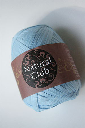 Paper Yarn from Natural Club in 03 Baby Blue