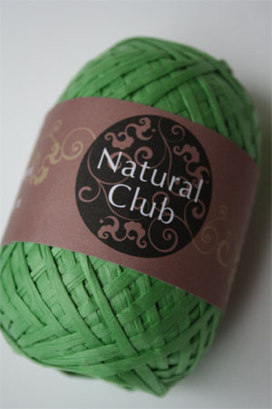 Paper Yarn from Natural Club in 05 Kelly Green