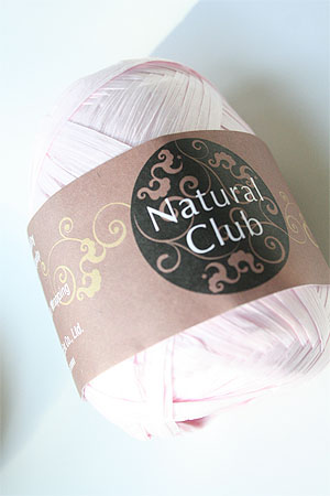 Paper Yarn from Natural Club in 02 Powder Pink