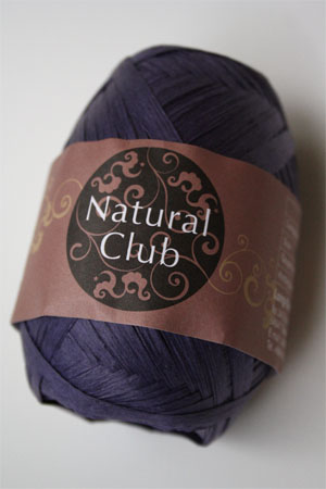 Paper Yarn from Natural Club in 96 Plum