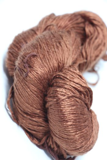 Peau de Soie Silk Yarn in Chocolate