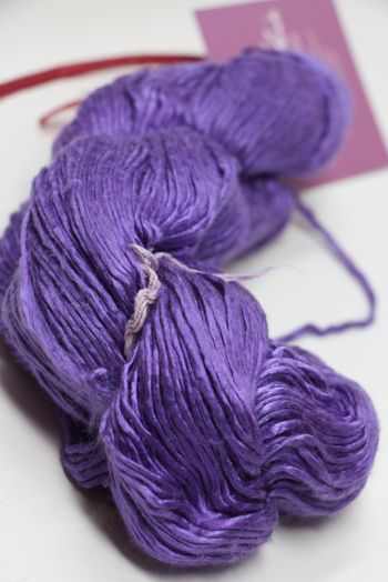 Peau de Soie Silk Yarn in Clematis