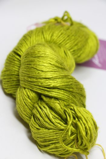 Peau de Soie Silk Yarn in Lemongrass