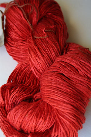 Peau De Soie :: Silk Yarn :: Hand Dyed Silk Yarn in 11 Early Girl
