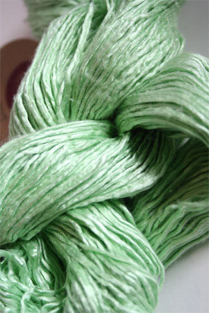 Peau De Soie :: Silk Yarn :: Mint