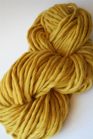 Twinkle Soft Chunky in 100 Mustard from Wenlan Chia