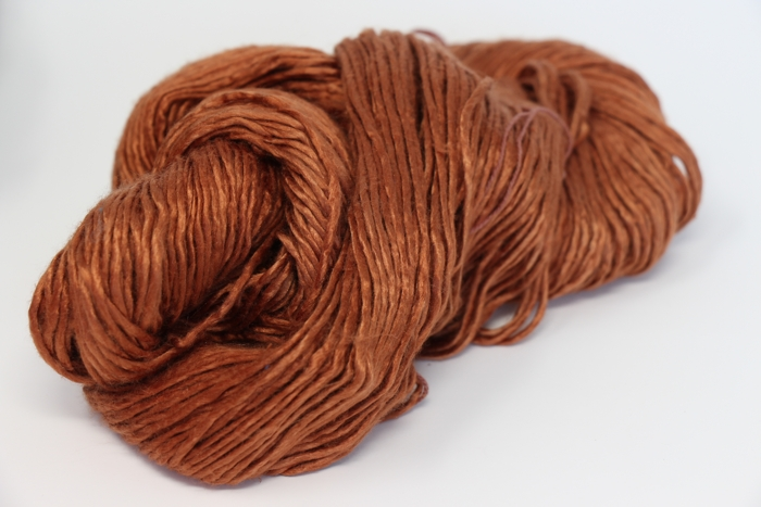 Peau De Soie Silk Yarn Chocolate