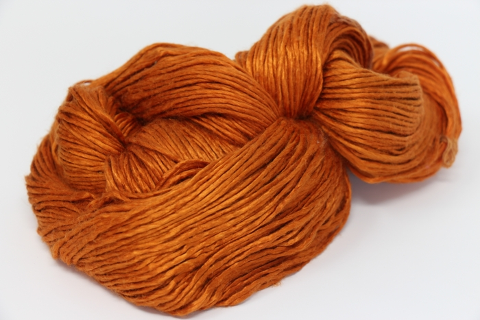 Peau de Soie Silk Yarn in copper