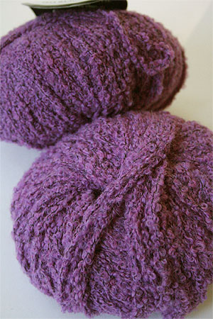 Plymouth Yarns Alpaca Boucle from Peru in 987 Lavender