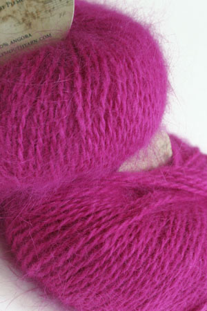 Plymouth Yarn Angora Knitting Yarn in Raspberry